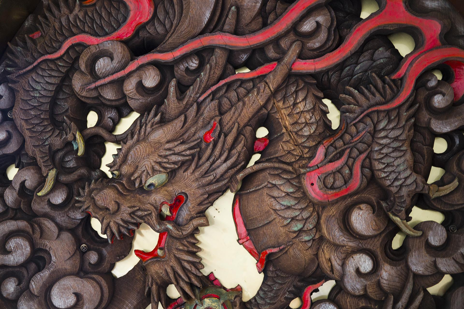 Asakusa Sensoji Temple dragon