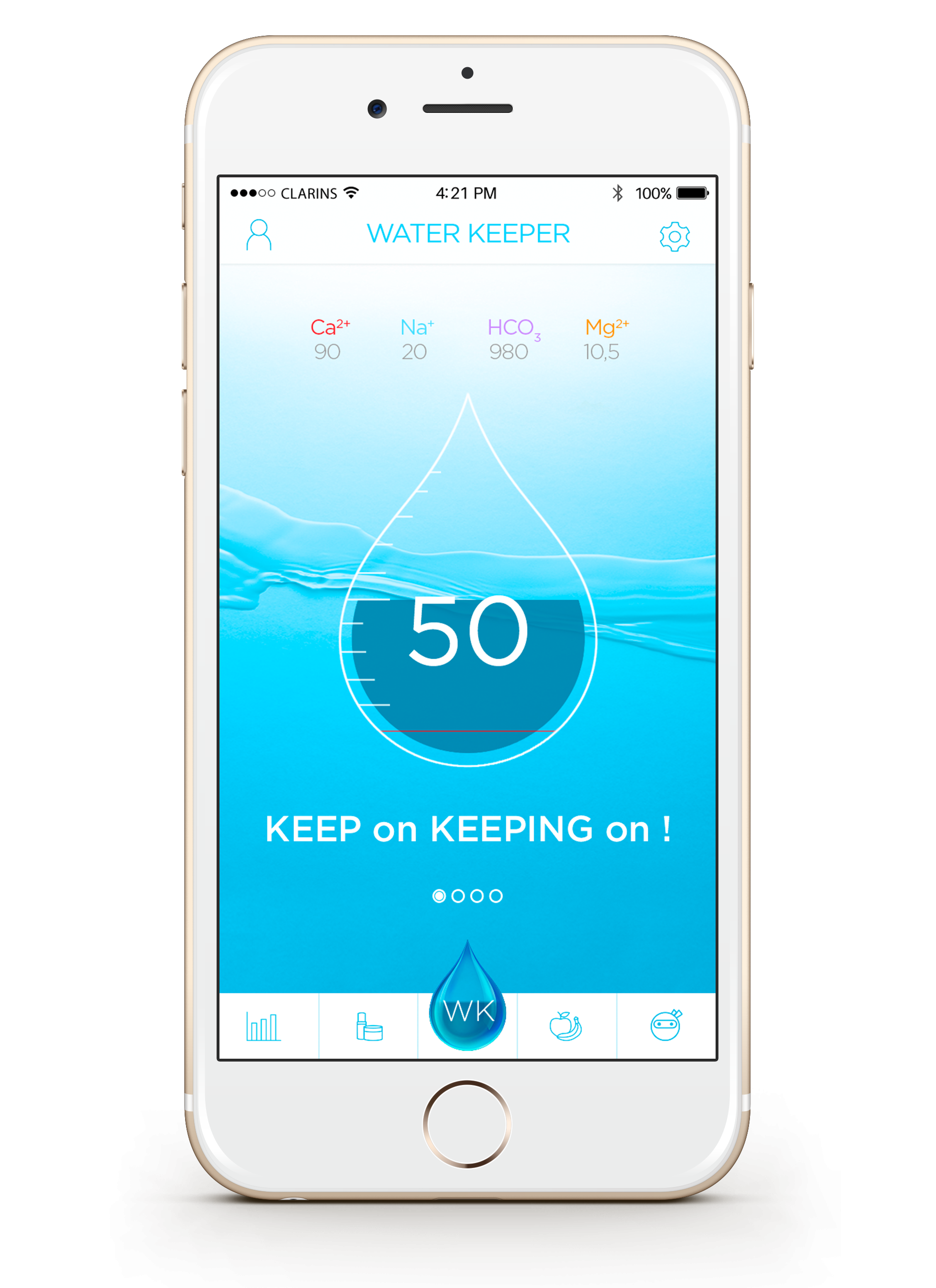 iphone clarins water keeper2