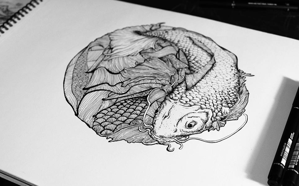 koi-dessin