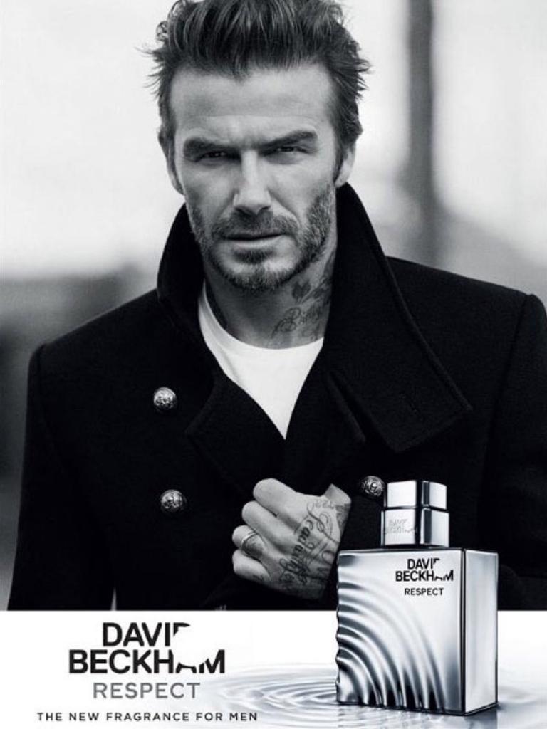 David Beckham Classic fragrance respect