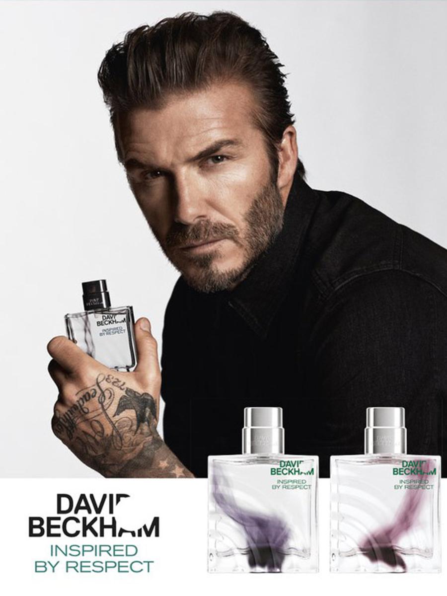 David Beckham inspired by respect